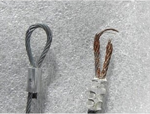 Broken Lifting Cable