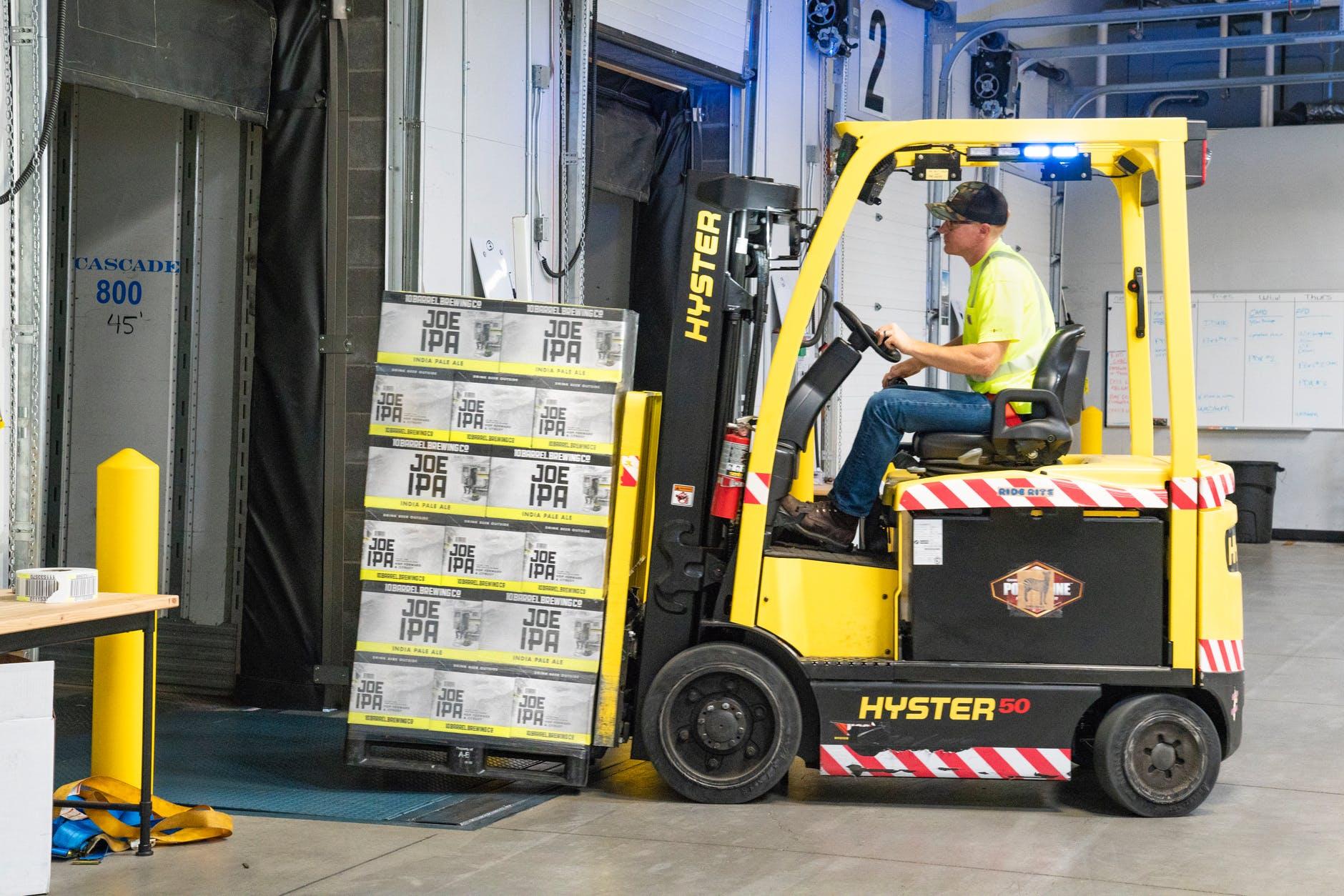 Commercial Garage Door Forklift